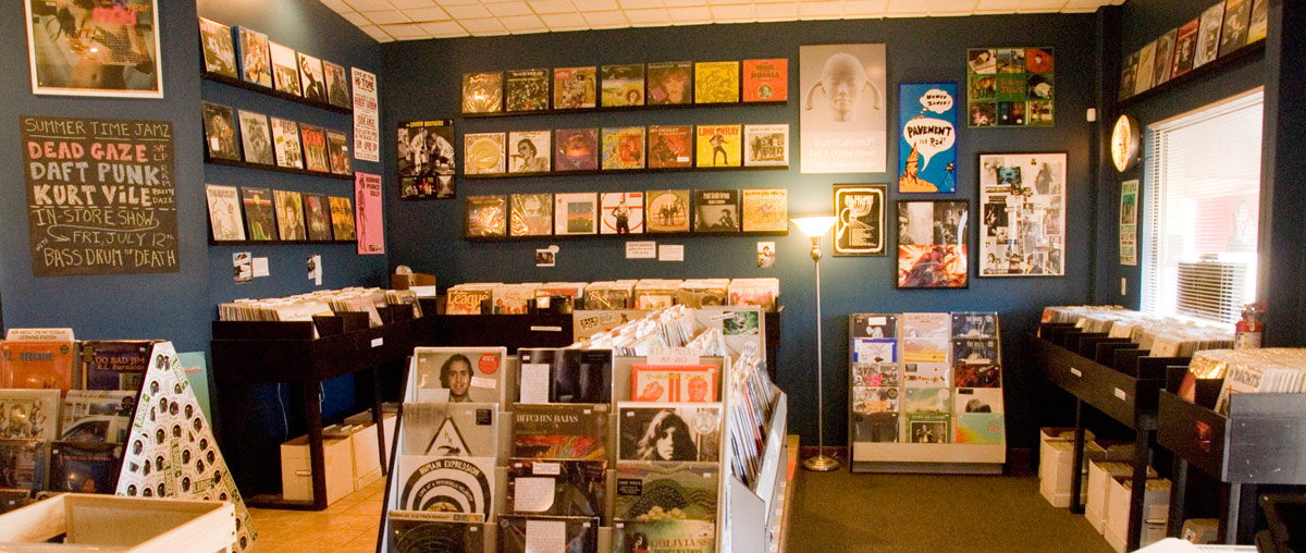 The End of All Music record store