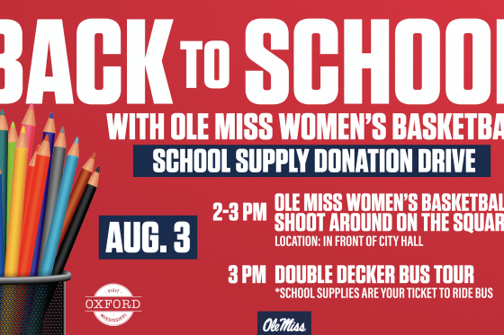 Back to School with Ole Miss Women's Basketball